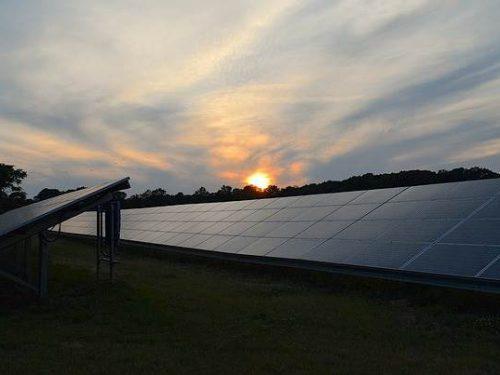 Solaranlage Freifläche