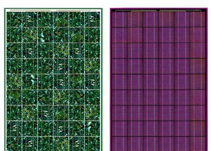 Farbige Solarmodule
